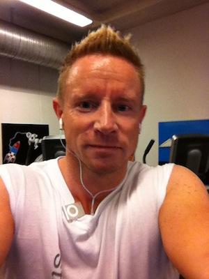 Thomas Nordal Rasmussen laver cardio op til DM 2012